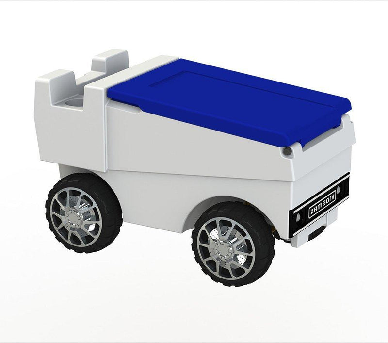RC Zamboni Cooler - White