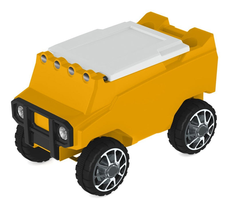 Remote Control Rover Cooler - Yellow
