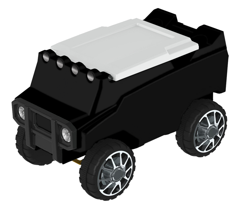 RC Rover Cooler - Black