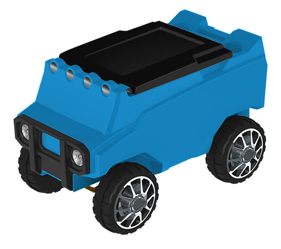 RC Rover Cooler - Light Blue