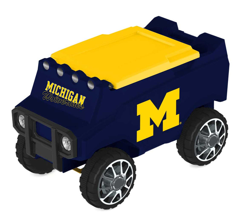 Michigan Wolverines Remote Control College Rover Cooler