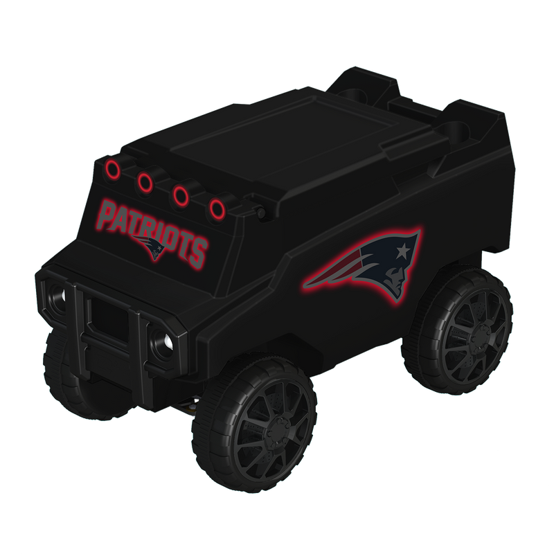 New England Patriots Blackout RC NFL Rover Cooler