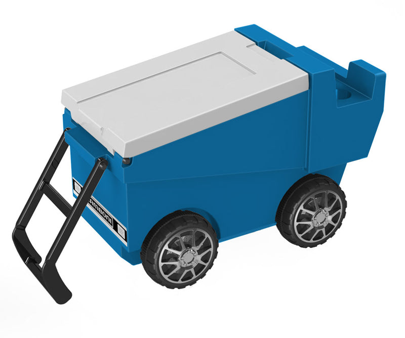 Zamboni Rolling Cooler - Light Blue