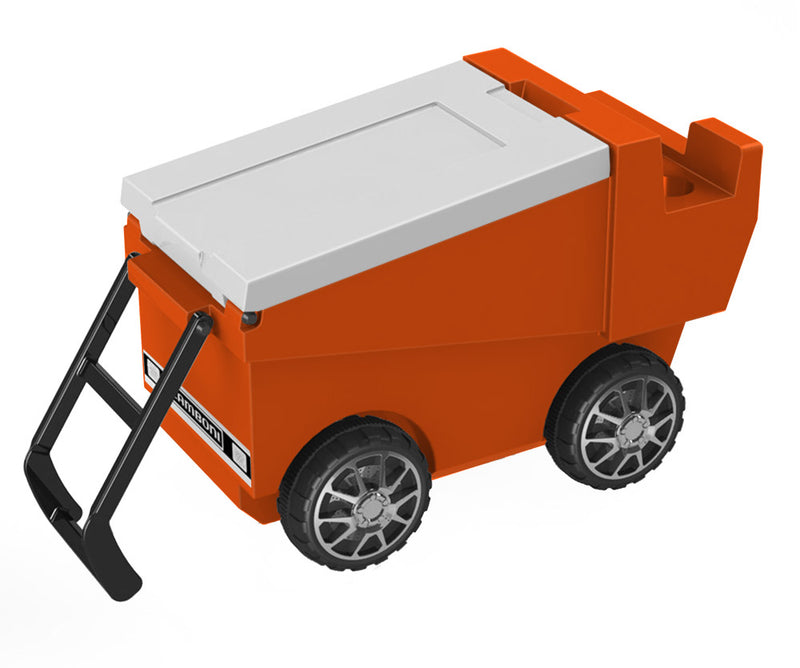 Zamboni Rolling Cooler - Orange