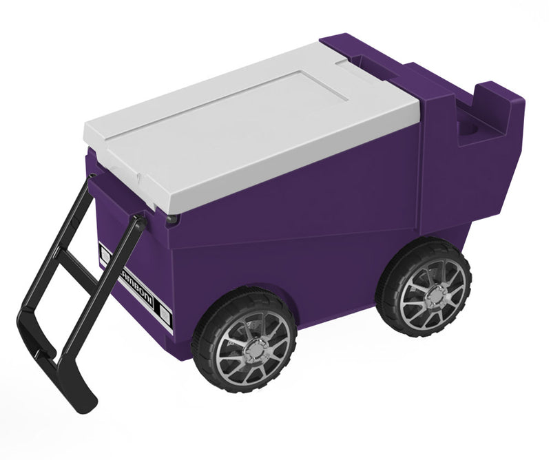 Zamboni Rolling Cooler - Purple