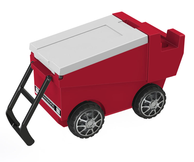 Zamboni Rolling Cooler - Red