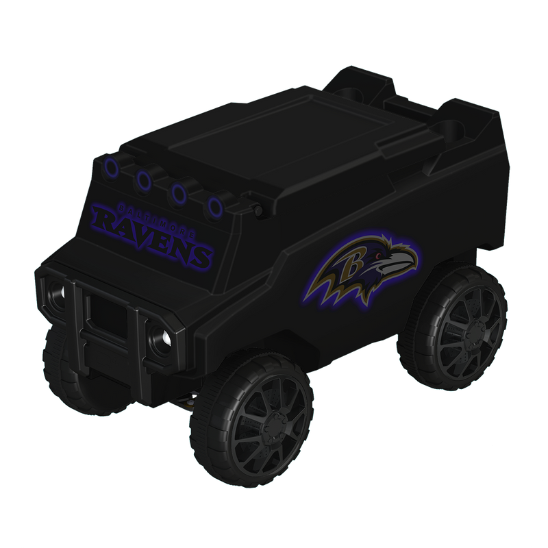 Baltimore Ravens Blackout RC NFL Rover Cooler