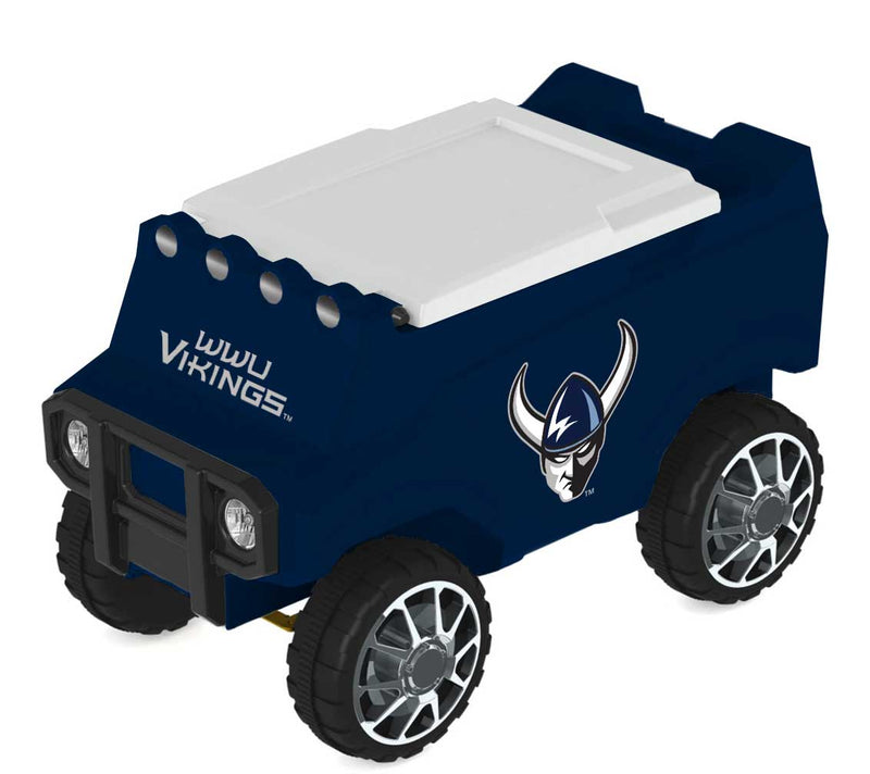 Western Washington (WWU) Vikings Remote Control College Rover Cooler