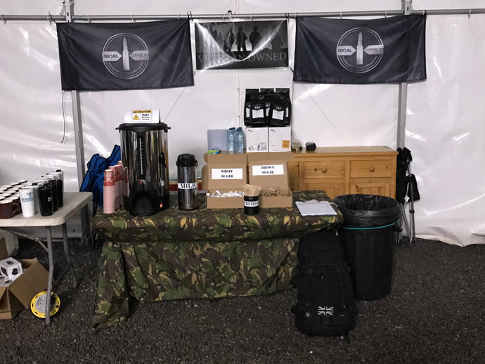 AEE: The Fan Dance and .50cal Coffee Company