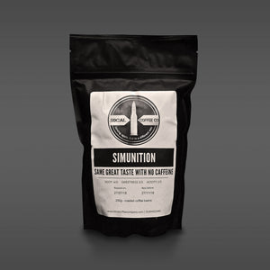 Simunition - Decaffeinated coffee - 50calcoffeecompany