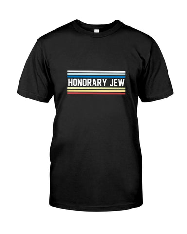 Honorary Jew. Unisex Softstyle Short-Sleeve T-Shirt