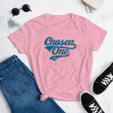 Chosen One Women's T-Shirt. That is The Rumor and I Believe It. PINK