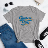 Chosen One Women's T-Shirt. That is The Rumor and I Believe It. GRAY