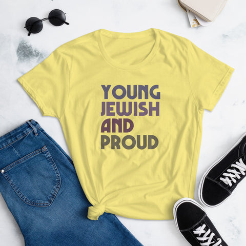 Young, Jewish, and Proud Women's T-Shirt