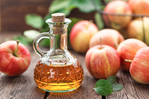 apple cider vinegar can remove build up on your scalp