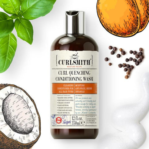 co-wash helps condition hair whilst cleansing