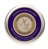 3.75 oz. Chardonnay Harvarti Cheese Tin