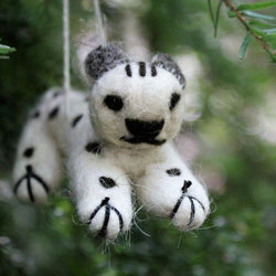 Snow Leopard Ornament/Doll