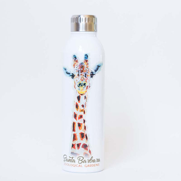 Long Neck Giraffe 17 oz Insulated Water Bottle