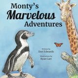 Monty's Marvelous Adventures book