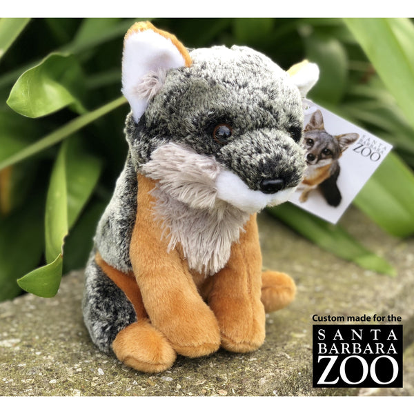 SB Zoo Channel Island Fox Plush