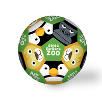 Zoo Animals Mini, Squishy Soccer Ball Green