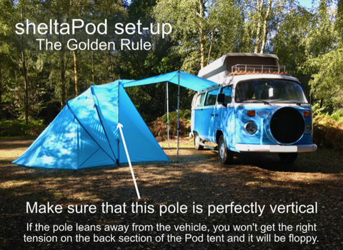 The SheltaPod awning works with any vehicle from SUVs, vans and jeeps to caravans, campers, campervans and motorhomes. It can be used as a sun canopy, half dome, 4 person tent and driveaway awning.