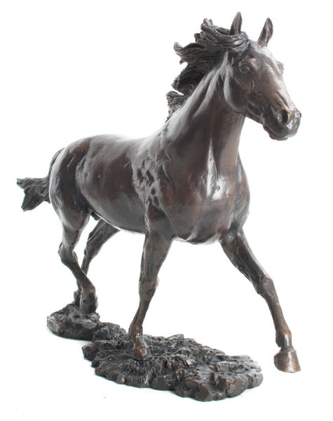 Limited Ed Hot Cast Bronze Forest Pony LE50 David Geenty - bronzebarngallery.com