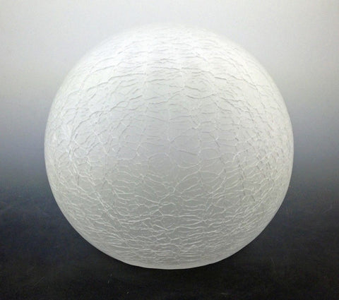 Replacement Globe Shade for Bronze Resin Lamp - bronzebarngallery.com