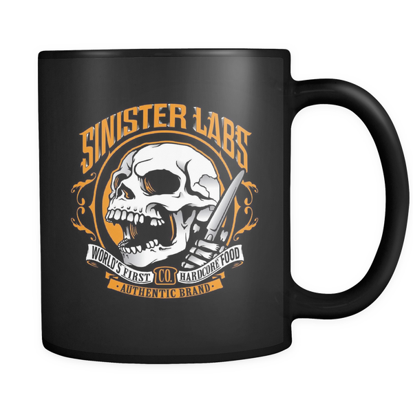 Sinister Labs Black Benny Coffee Mug