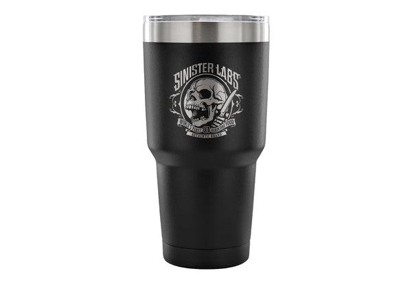 Sinister Labs Logo 30 Ounce Vacuum Tumbler