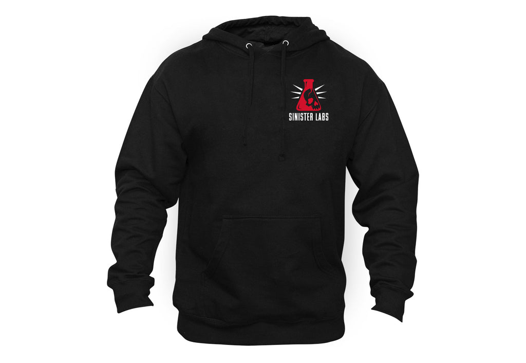 Warning Caffeinated Hoodie-Backprint