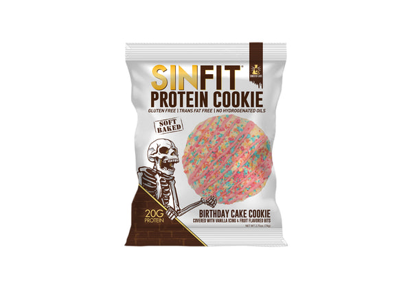 SINFIT® Birthday Cake Protein Cookie