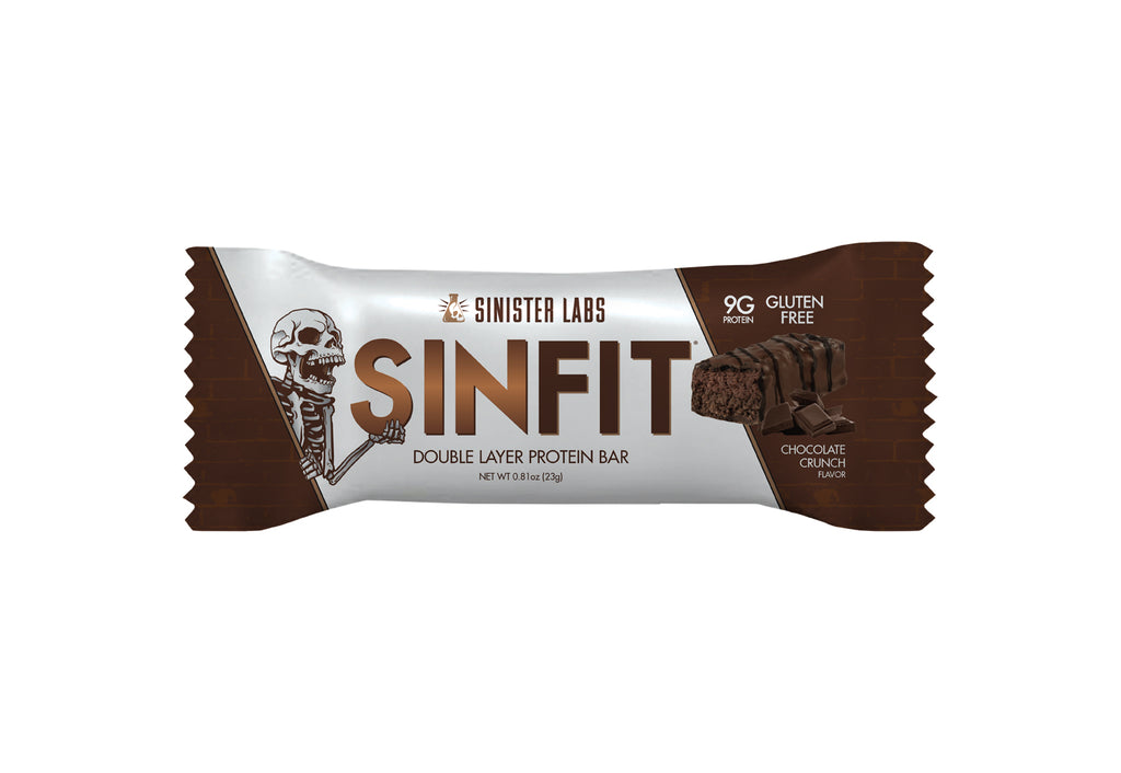 SINFIT® - Snack Size Bars in a Bag - Chocolate Crunch Bar