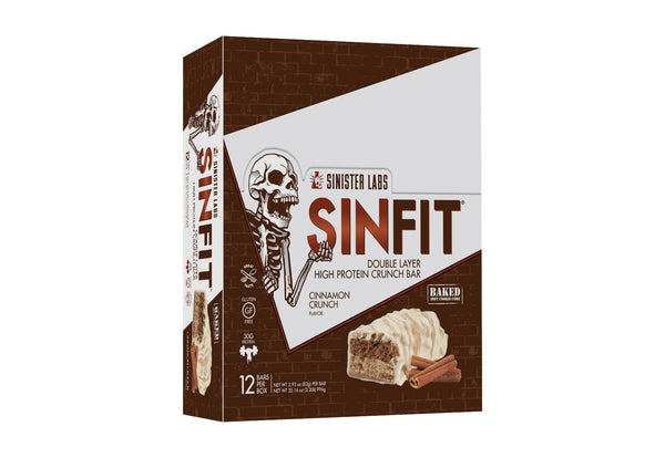 SINFIT High Protein Double Crunch Bars Variety Pack