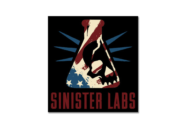 Sinister Labs American Sticker