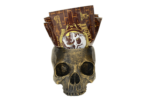 Skull 10 Pack Chocolate Chaos Peanut Powder Packets - Caffeinated