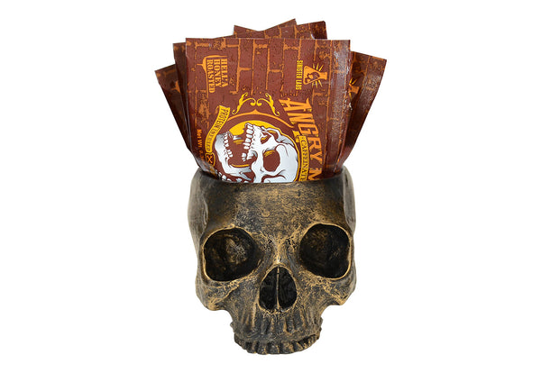 Skull 10 Pack Hell'a Honey Roasted Peanut Powder Packets - Caffeinated