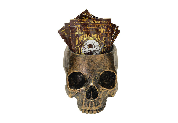 Skull 10 Chococolate Chaos Spread Packets - Caffeinated