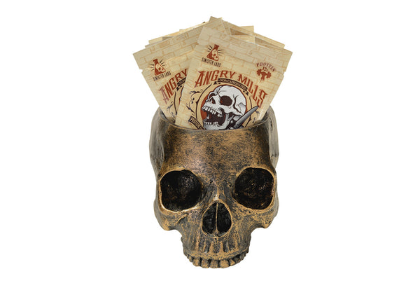 Skull 10 Wicked White Chocolate Spread Packets - Non-Caffeinated