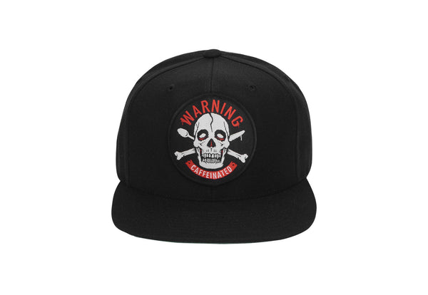 Warning Caffeinated - Flatbill Snapback