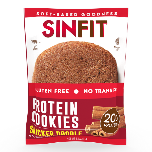SINFIT- Snickerdoodle Protein Cookie