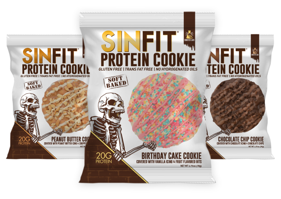 SINFITR Protein Cookie Sinister Labs