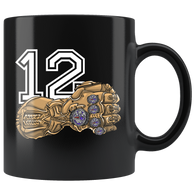 12 Goat New England Brady TB12 Mug - They Hate Us Because We Have 5 Rings Glove Coffee Cup - Luxurious Inspirations