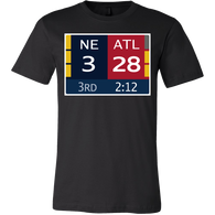 28-3 Shirt - Awesome Pats Fan Tee - Luxurious Inspirations