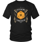 5% Of The Time Anchorman Parody DND T-Shirt - Luxurious Inspirations