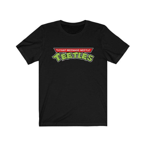 Tutant Meenage Neetle Teetles Parody High Quality T-Shirt - Binge Prints