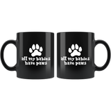 All My Babies Have Paws Mug - Cute Dog Cat Pet Animal Lover Gift Coffee Cup - Luxurious Inspirations