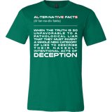 Alternative Facts Shirt - Lies Deception Tee - Luxurious Inspirations