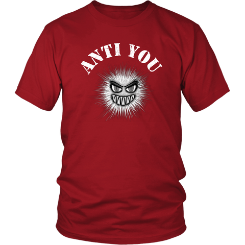 Anti You Funny Sarcastic Antisocial T-Shirt - Luxurious Inspirations